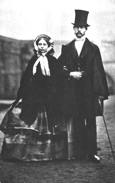 07_1  Королева Виктория и её муж Альберт