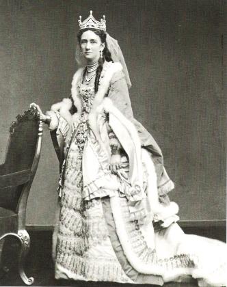 23 Луиза Гессен-Кассельская, жена  Кристиана фото 1860 -х годов