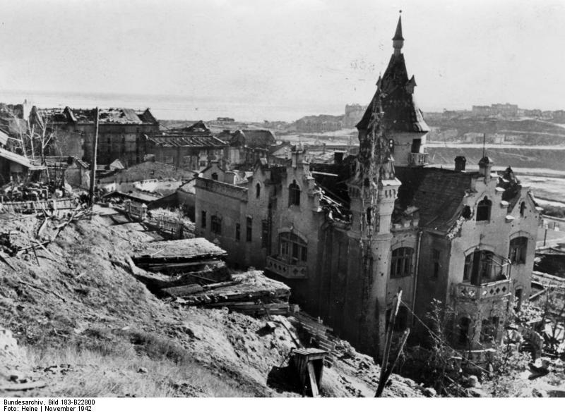 10  Сталинград, ноябрь 1942 года