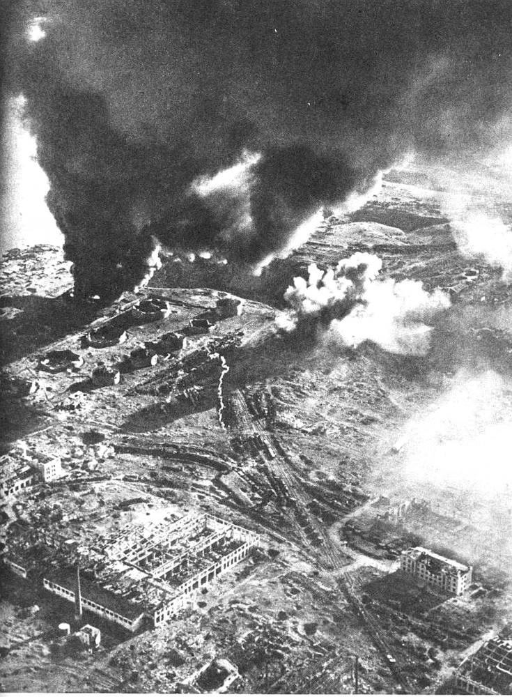 12  фото Сталинграда с воздуха