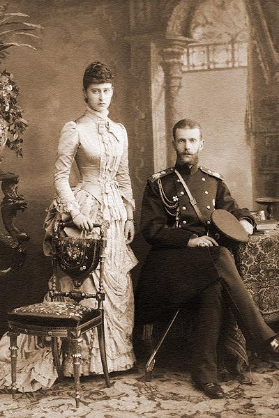 21   Елизавета с мужем 1884 год