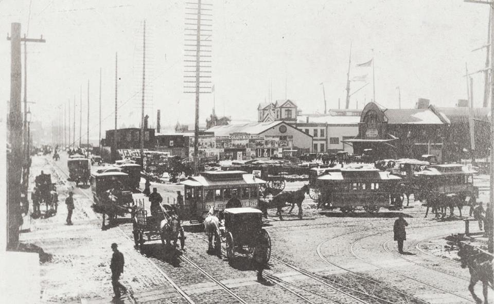 10 Нью-Йорк 1888 год