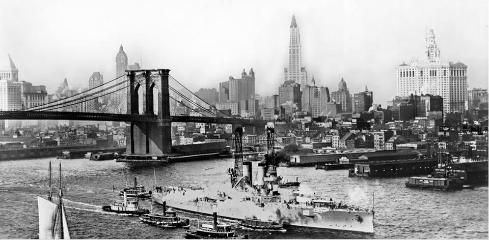 14 Бруклинский мост 1912 год