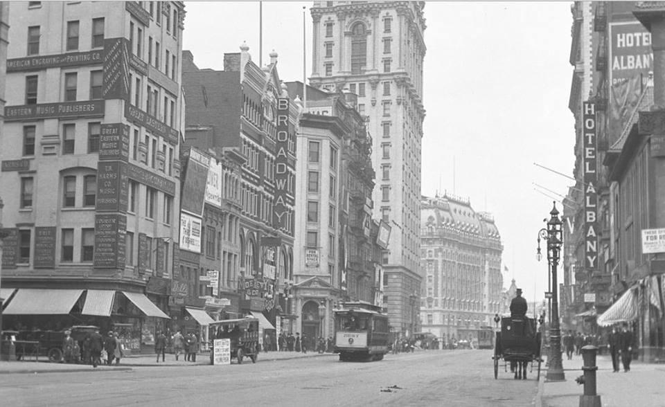 16  Нью-Йорк 1909 год