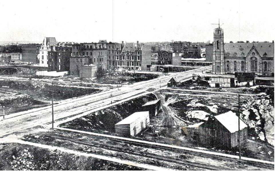 17  Ньюй-Йорк 1870 год Мэдисон авеню