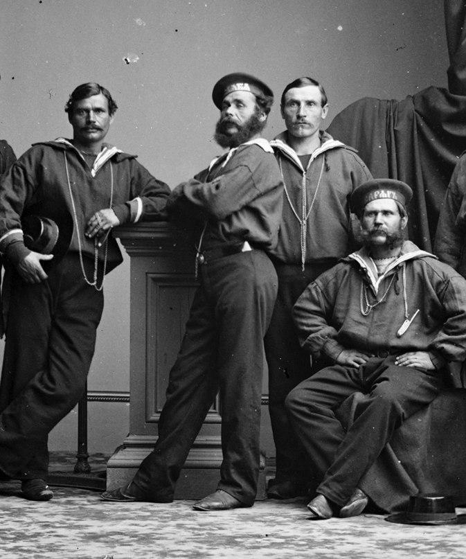 Русские моряки в Нью-Йорке, 1863 год