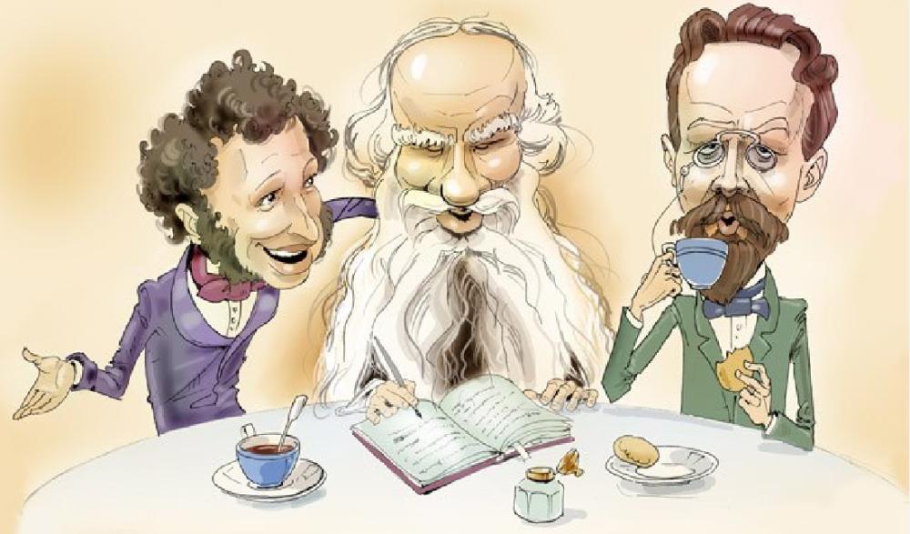 29  Пушкин, Чехов и Толстой