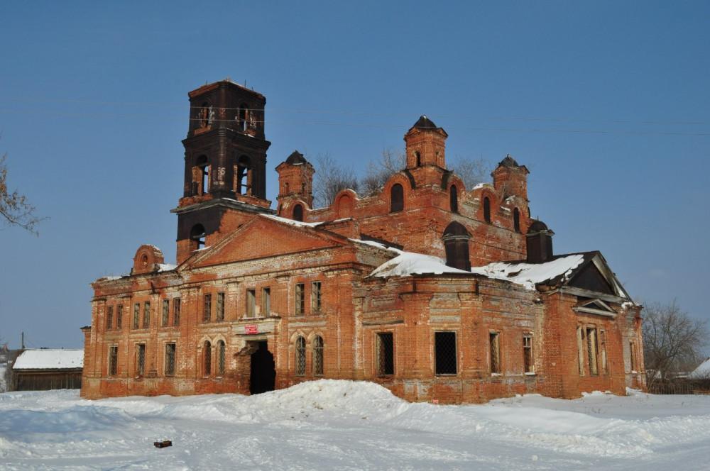 72 Георгиевская церковь Оханский район Пермский край