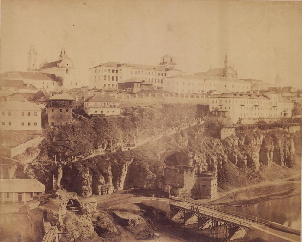 01 Каменец-Подольский часть 6 остатки крепостной стены