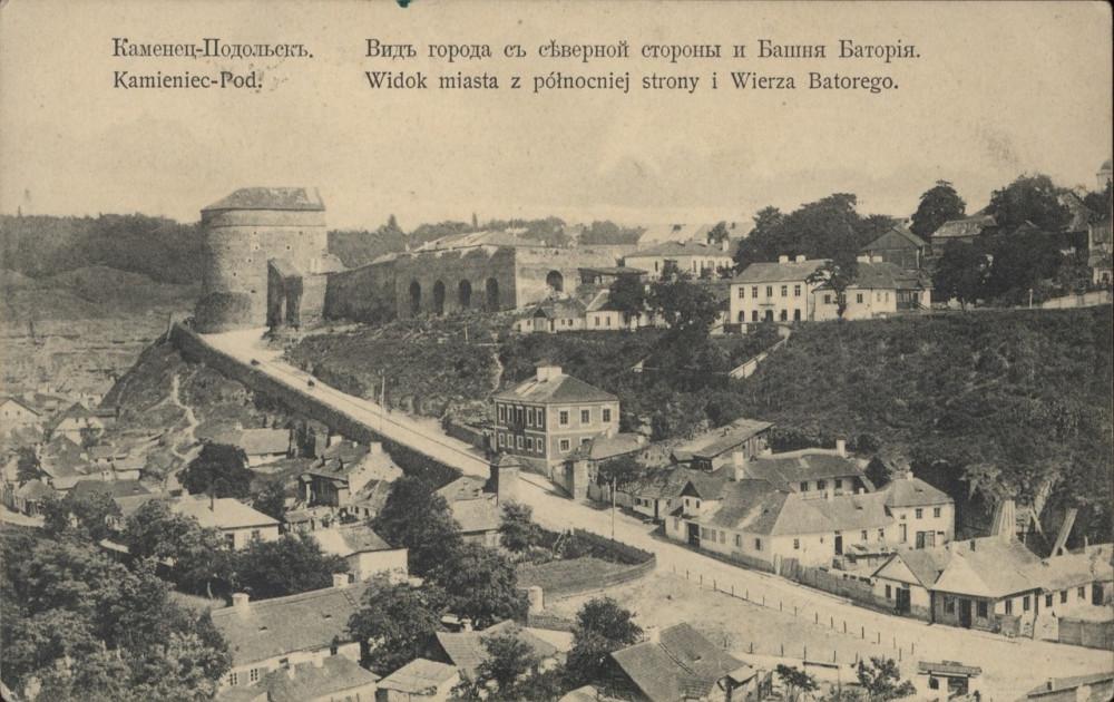 04  Вид города с северной стороны. Башня Батория