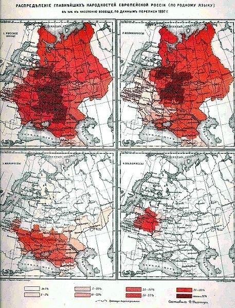 график перепись населения 1897 года