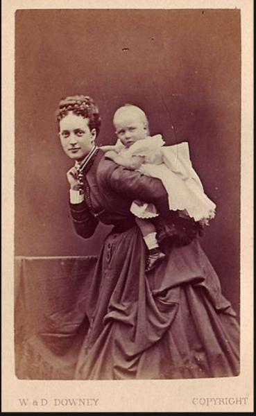 Александра Датская  1867 год