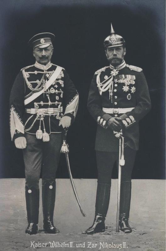 0_9ecb3_e5dd9b6d_XL два императора Вильгельм и Николай 2