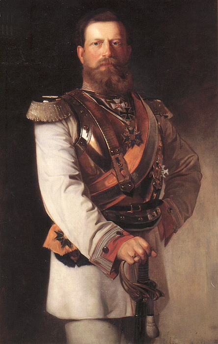 02 Friedrich_III_as_Kronprinz_-_in_GdK_uniform_by_Heinrich_von_Angeli_1874