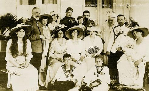 170-56-02 романовы и румынская королевская семья