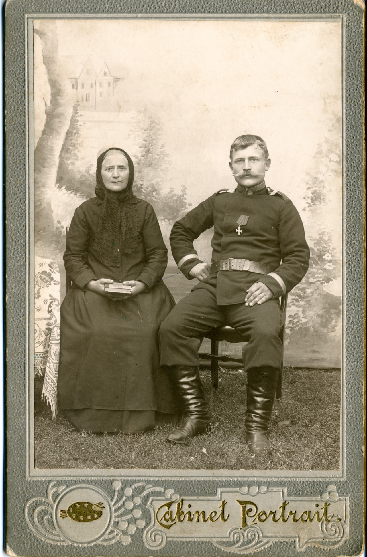 Август и Генриетта