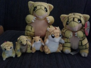 sandshrew plush collection update