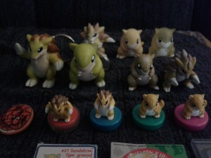 sandshrew figure collection update