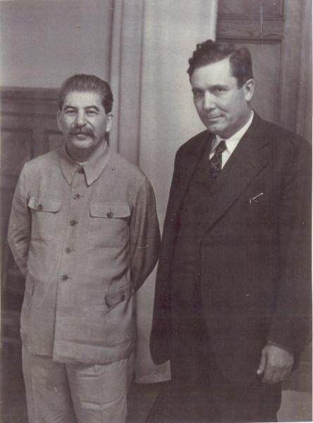 Сталин и Уилки