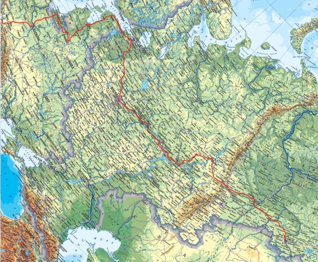 Из Омска до Европы