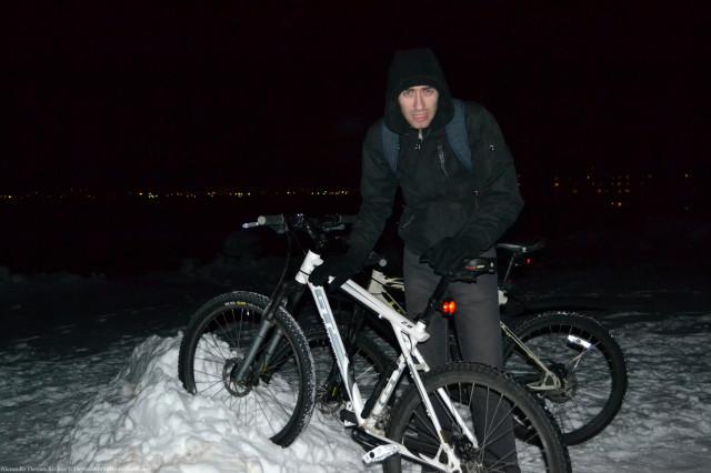 Зимние велопробежки