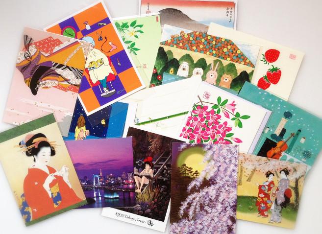 Японские открытки