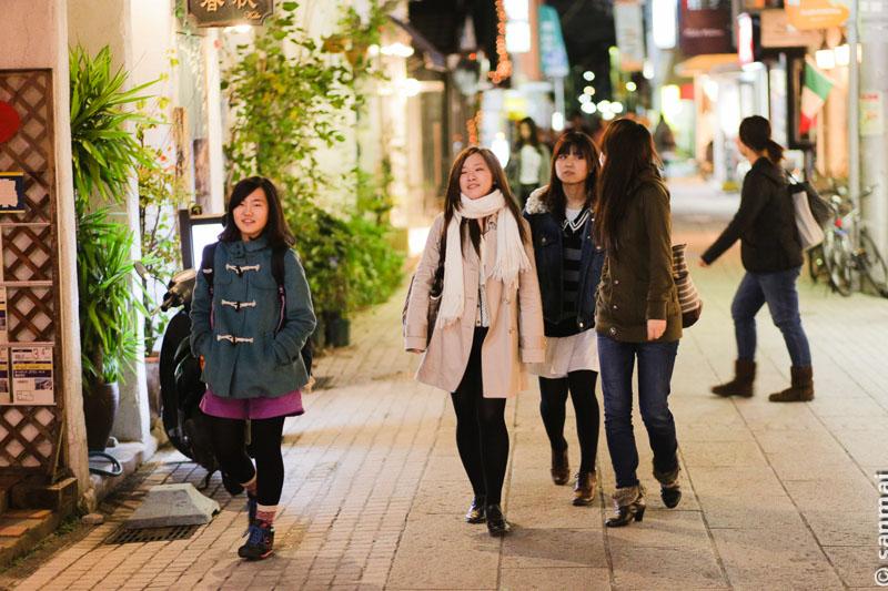 Один осенний вечер в городе Кобе