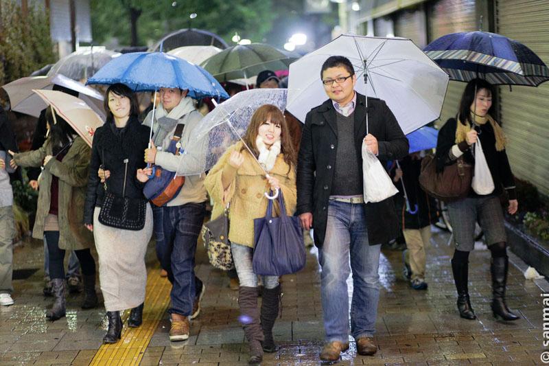 Дождливый декабрьский вечер