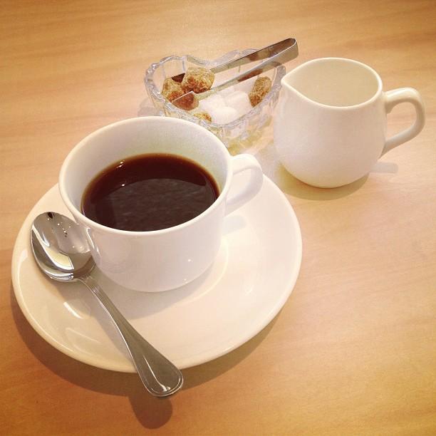 Кофе, сливки, сахар
