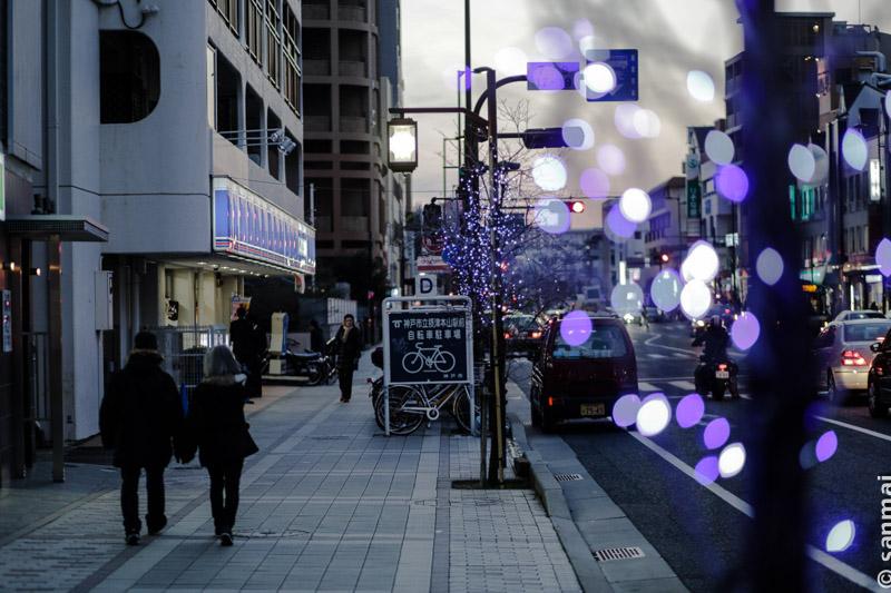 Зимним вечером в Кобе