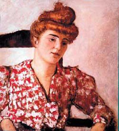 Эдуард Вюйяр. Портрет Миси Серт 1897г