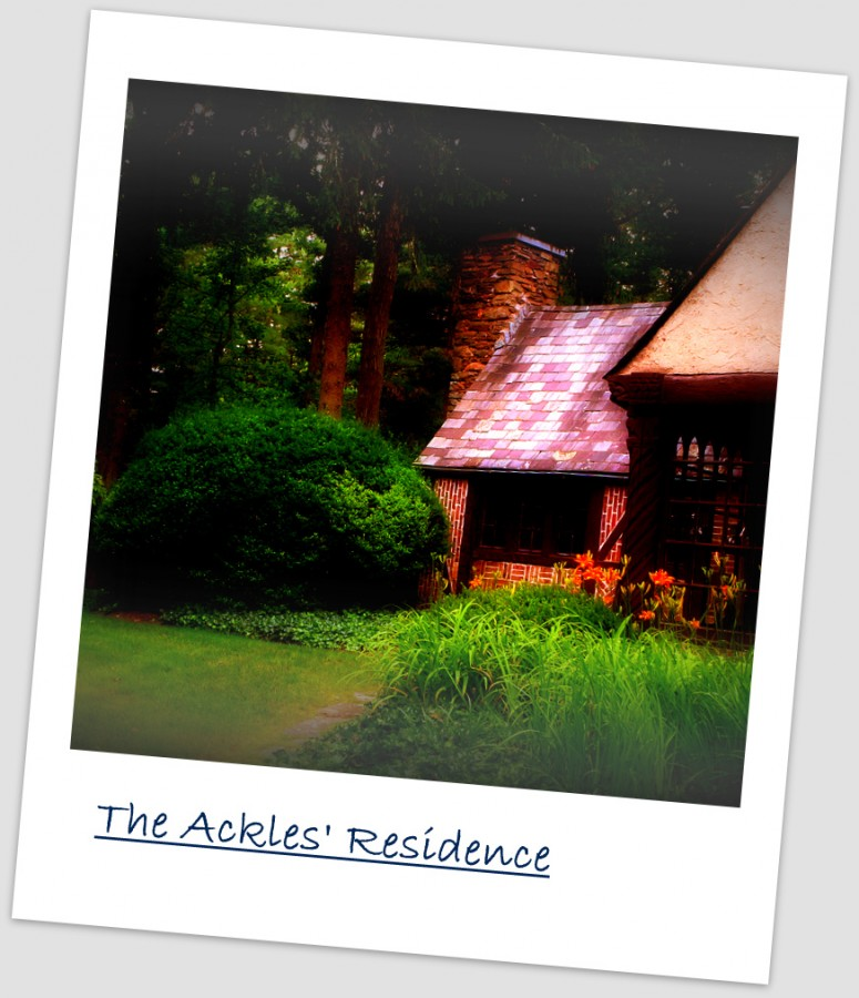 Ackles' residence