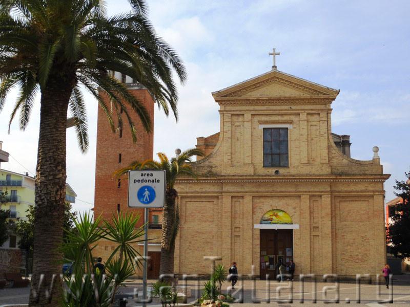 Церковь в Монтесильвано