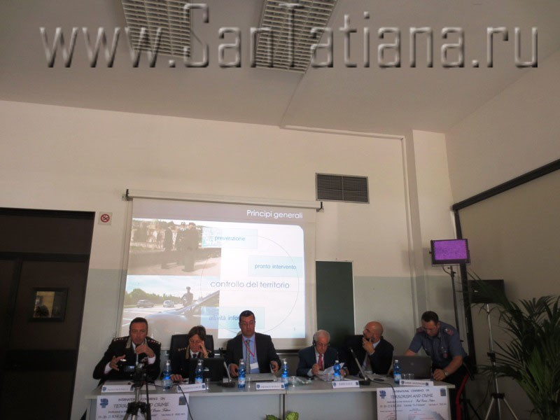 Conference on Terrorism and Crime in the University of Pescara-Chieti4