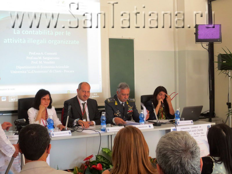Conference on Terrorism and Crime in the University of Pescara-Chieti5