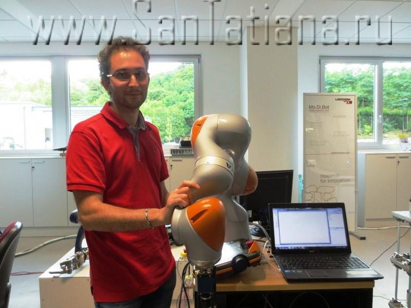 Gruppo Loccioni_Leaf Lab_Robot