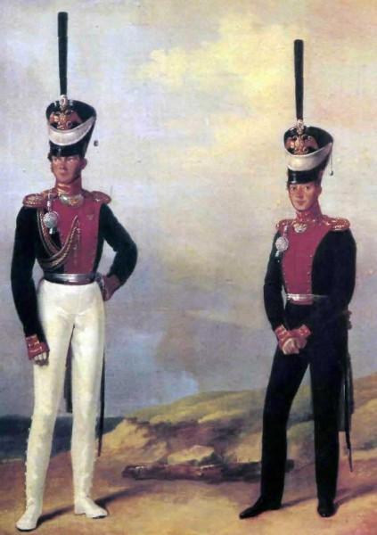 Два капитана л.гв. Моск. п. 1828 г.
