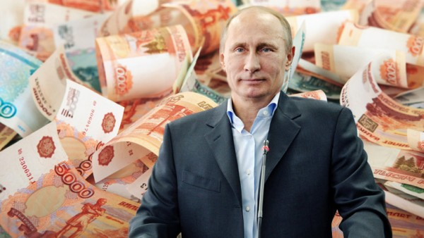 Путин раздает бабло