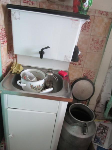 мою посуду