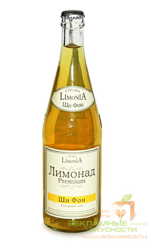 Лимонад с логотипом от ADSWEETS - рекламные вкусности