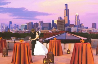What Chicago Bride Wouldnt Want That Spectacular Skyline View In Her Wedding Photos We Wanted Somehow To Incorporate The City Into Our Anyway