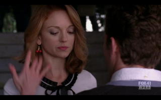 Emma's earrings: a closer look
