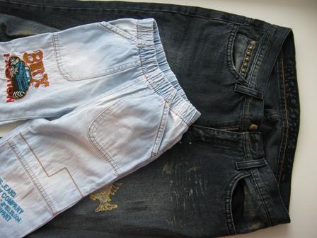旧牛仔裤还能干什么?36 幼儿牛仔裤(大师班) - maomao - 我随心动