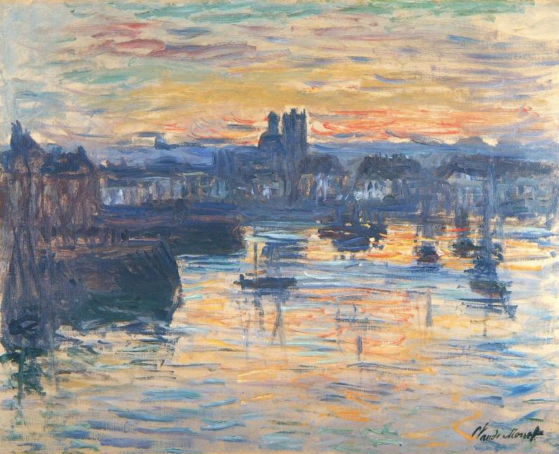 Порт Дьеппа, вечер 1882г.jpg