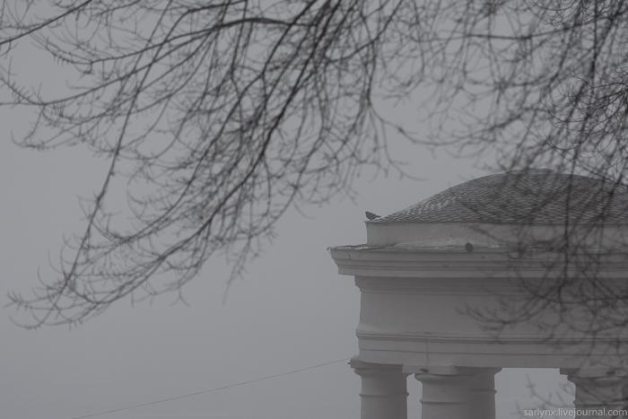 Город С. почти не виден Саратов