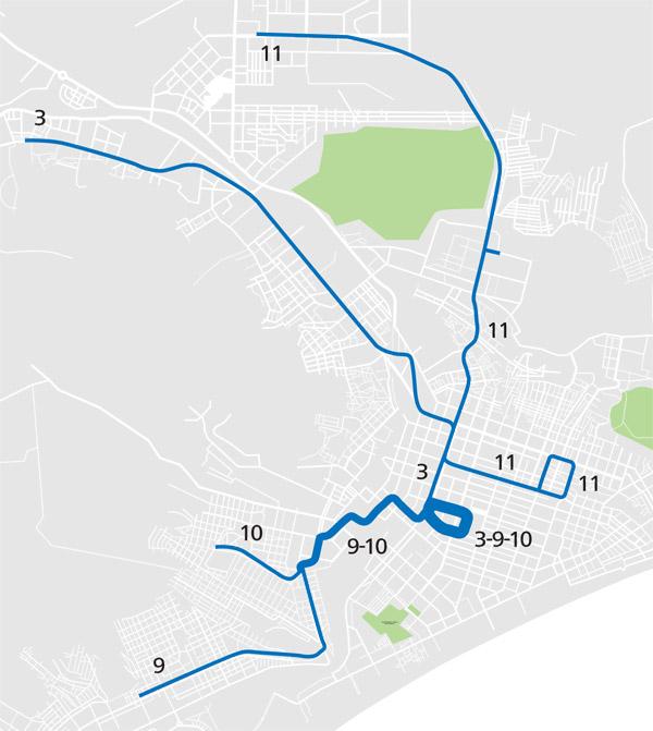 все трамваи 11-го маршрута