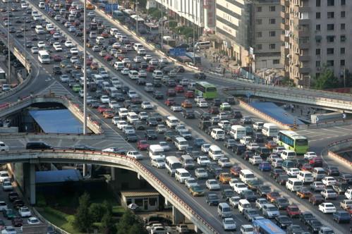CHINA trafficjam