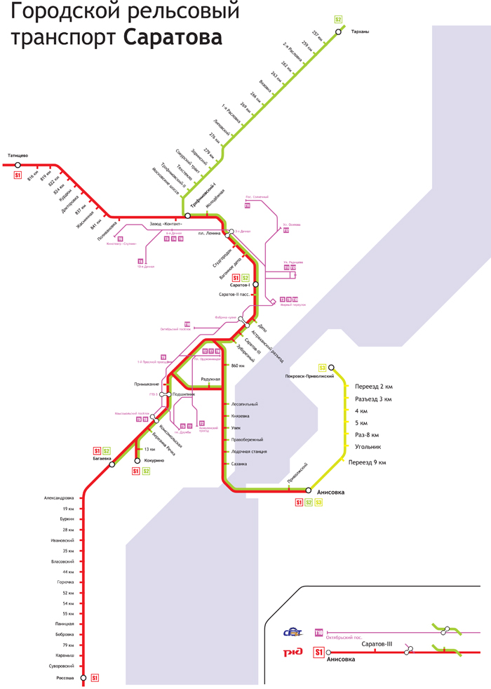 общественного транспорта.
