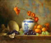 Blue and White Vase_179x150