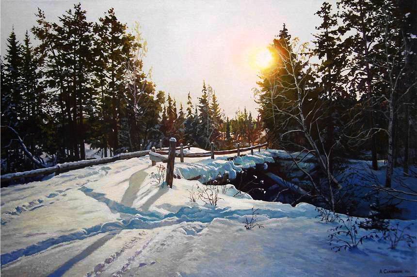 Творчество современного художника Александра Самохвалова